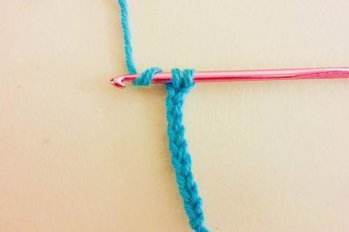 男士围巾编制方法步骤十一