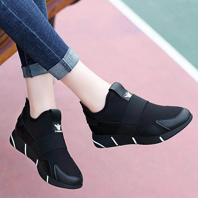 怪不得老婆不穿高跟鞋了,春节流行这6款均码女鞋,一下买3双